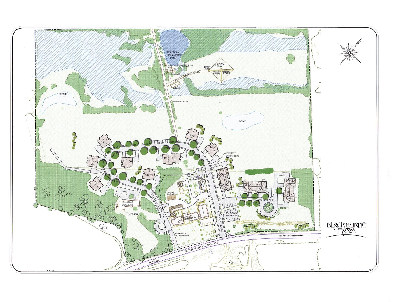 Blackburne Community Map