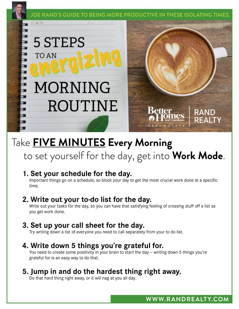 Rand, 5 Steps to Morning Routine for Everyone