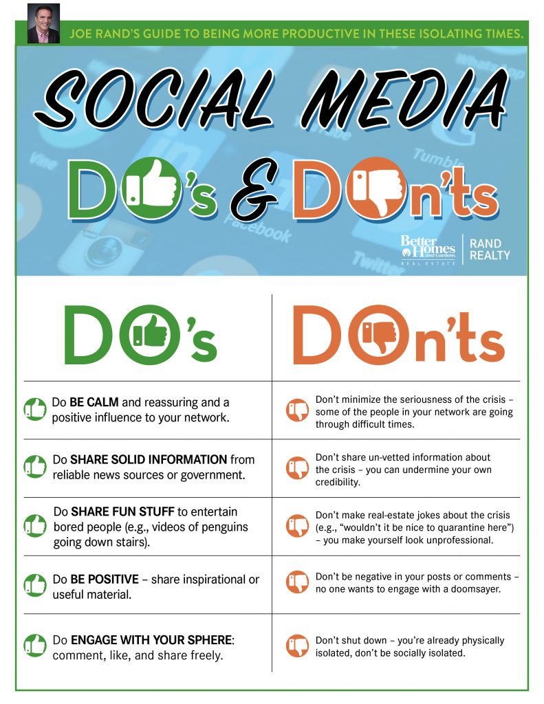 Rand, Social Media Dos and Donts